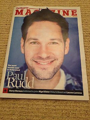 PAUL RUDD interview ANCHORMAN 2 UK 1 DAY ISSUE BRAND NEW DAPHNE GUINNESS