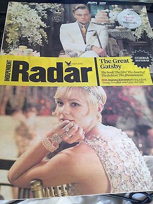 GREAT GATSBY UKmag 2013 LEONARDO DICAPRIO CAREY MULLIGAN LOU DOILLON PAUL RUDD