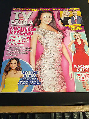 NEW TV EXTRA MAG MICHELLE KEEGAN ROB JAMES COLLIER RACHEL RILEY MYLEENE KLASS