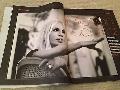 DONATELLA VERSACE interview LILY ALLEN UK 1DAY ISSUE NEW IGGY AZALEA KELLY BROOK