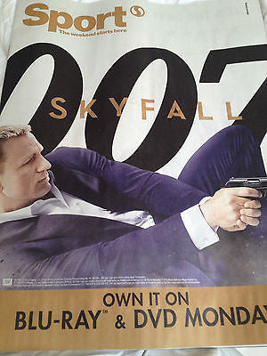 UK Sport Magazine DANIEL CRAIG JAMES BOND SKYFALL 007 LAURA TROTT JIMMY ANDERSON