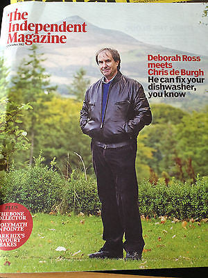 NEW Independent MAGAZINE = CHRIS DE BURGH TORI AMOS