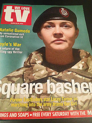 NEW We Love TV Mag LACEY TURNER DOON MACKICHAN TRACY SPIRIDAKOS NATALIE GUMEDE