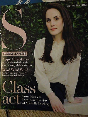 New S Magazine MICHELLE DOCKERY DOWNTON ABBEY LACEY TURNER RACHEL SHENTON