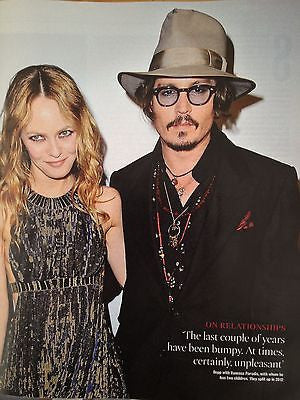 JOHNNY DEPP interview VANESSA PARADIS UK 1 DAY ISSUE BRAND NEW CASSIUS CLAY