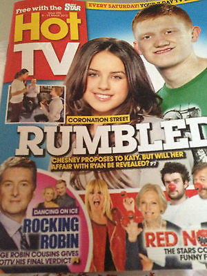 NEW Hot TV Magazine ROBIN COUSINS JONATHAN GOODWIN TERRY MYNOTT