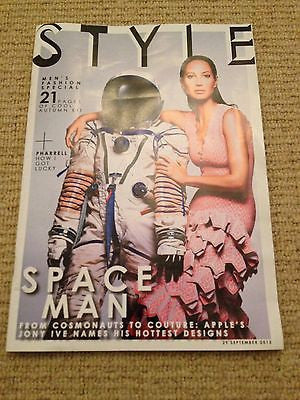 Style Magazine September 2013 Christy Turlington Paul Sculfor Pharrell Williams