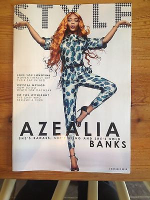 UK Azealia Banks EXCLUSIVE Interview Style Sunday Times Magazine ATM Jam