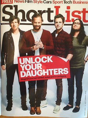 KINGS OF LEON interview SCOTT BAKULA star trek NEW UK 1DAY ISSUE IAN SOMERHALDER