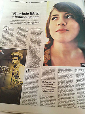 TELEGRAPH Review Feb 2013 CAITLIN ROSE Chris Addison Rufus Sewell NICK CAVE