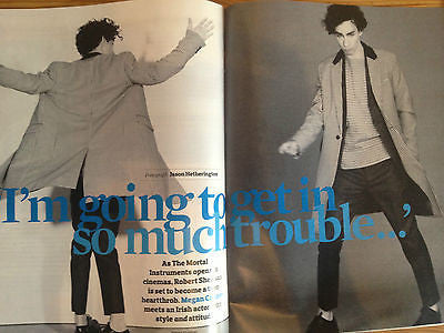 Observer Magazine - 4 August 2013 Robert Sheehan Laura Trott Mel C Spice Girls