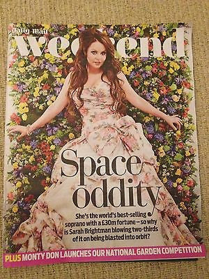 WEEKEND MAG SARAH BRIGHTMAN Julian Glover ANN-MARGRET IWAN RHEON MACKENZIE CROOK