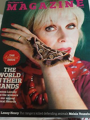 JOANNA LUMLEY interview THE AVENGERS UK 1 DAY ISSUE BRAND NEW NICO MIRALLEGRO