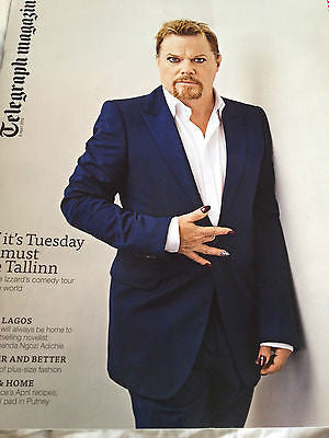 *** NEW UK !! EDDIE IZZARD inter/w FORCE MAJEURE telegraph April 2013 ****