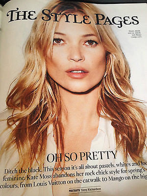 Times Magazine 2012 KATE MOSS PHIL DANIELS QUADROPHENIA ERIC CANTONA WILL.I.AM.