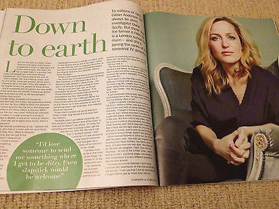 UK S Magazine GILLIAN ANDERSON MARTIN COMPSTON Tamzin Merchant
