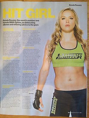 CHRIS HEMSWORTH interview DANIEL BRUHL UK 1 DAY ISSUE RONDA ROUSEY KENDA PEREZ