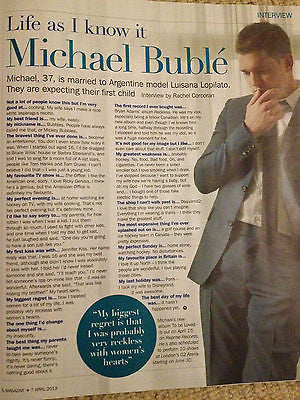 NEW S Magazine MICHAEL BUBLE Alesha Dixon Mindy Richard Hammond Jeff Banks