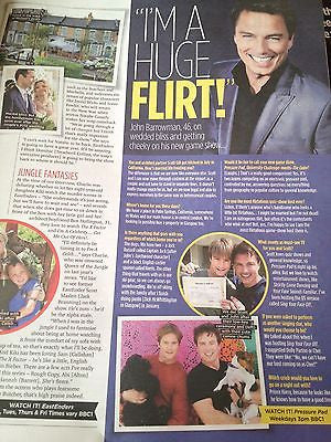 JOHN BARROWMAN PHOTO INTERVIEW UK MAGAZINE SEPT 2013 PRISCILLA PRESLEY ELVIS
