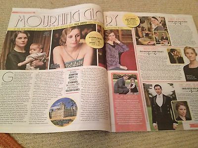 DOWNTON ABBEY uk mag 2013 DOCKERY JOANNE FROGGATT ROB JAMES COLLIER ALLEN LEECH