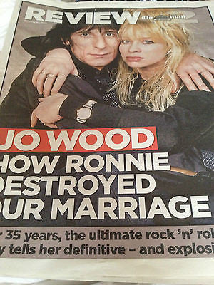 NEW Mail 2 Review RONNIE JO WOOD ROLLING STONES ERICA WEXLER ANDY PARTRIDGE DIDO