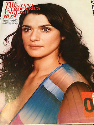 OM MAGAZINE 16 OCT 2005 RACHEL WEISZ UK EXCLUSIVE INTERVIEW