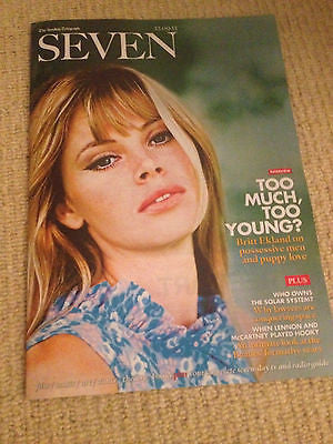 BRITT EKLAND JAMES BOND GIRL SEVEN UK COVER MAGAZINE PAUL MCCARTNEY JOHN LENNON