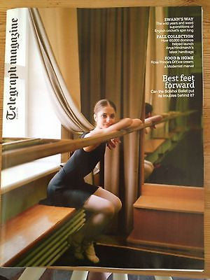 BOLSHOI BALLET cover STELLA McCARTNEY UK 1 DAY ISSUE BRAND NEW GRAEME SWANN