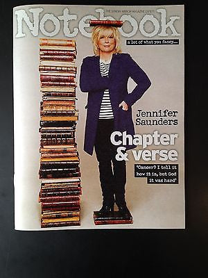 JENNIFER SAUNDERS interview DAWN FRENCH UK NOTEBOOK ISSUE 2013 DAVID SUCHET