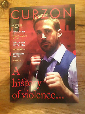 RYAN GOSLING - HOT - NEW UK COVER CURZON MAGAZINE GRETA GERWIG ONLY GOD FORGIVES