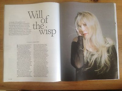STEVIE NICKS interview FLEETWOOD MAC UK 1 DAY ISSUE BRAND NEW SEPT 2013