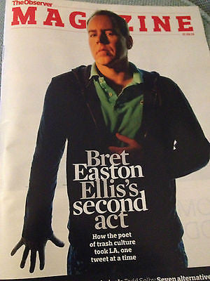 NEW Observer Magazine BRET EASTON ELLIS PABLO BRONSTEIN HILARY DEVEY