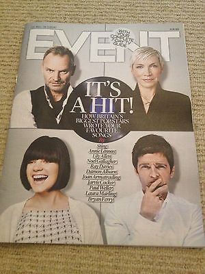 STING UK cover mag 2013 ANNIE LENNOX RAY DAVIES KINKS BRYAN FERRY PAUL WELLER