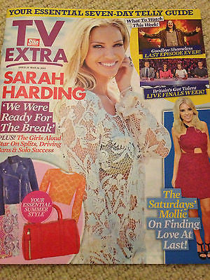 TV EXTRA MAGAZINE MAY 26 2013 SARAH HARDING GIRLS ALOUD MOLLIE KING MARK GATISS