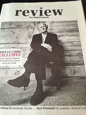 Telegraph Review April 2013 JOHN LE CARRE Olga Kurylenko Carla Bruni Marc Warren
