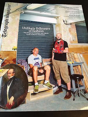 JAKE AND DINOS CHAPMAN BROTHERS interview LOUIS VUITTON UK 1 DAY ISSUE NEW