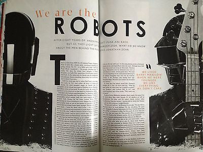 *** NEW UK !! DAFT PUNK interview DONATELLA VERSACE eddie redmayne ***