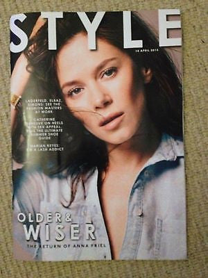 *** NEW UK !! CATHERINE DENEUVE inter/w ALICE EVE raf simons ANNA FRIEL ***