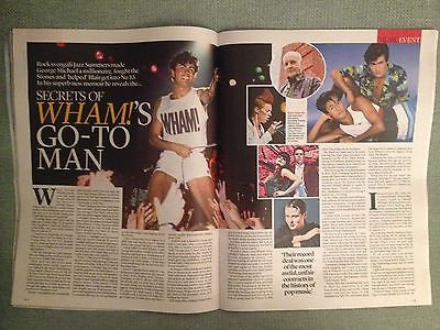 Event Magazine 22 September 2013 George Michael - Wham!