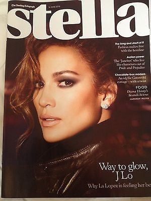 JENNIFER LOPEZ interview LATIN HOTTIE UK 1 DAY ISSUE BRAND NEW ANCHEE MAO