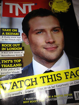 TNT MAGAZINE ISSUE FEB 2013 JAI COURTNEY COVER - NEW - DIE HARD