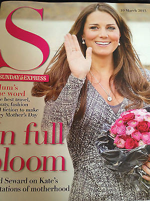 UK S Magazine March 2013 Kate Middleton Tori Amos Helen Flanagan Lisa Faulkner
