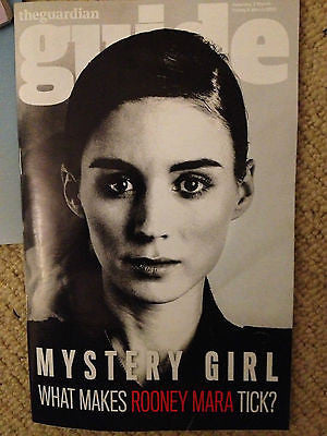 NEW Guide Magazine ROONEY MARA ANNA & KATY JONATHAN GOODWIN BARBRA STREISAND