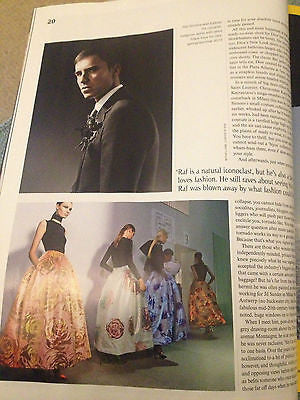 NEW ST FASHION Magazine RAF SIMONS PORTIA FREEMAN TERESA & ROSITA MISSONI