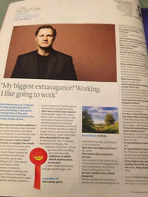 NEW FT Weekend Magazine DAVID MORRISSEY THE WALKING DEAD ILYA EMILIA KABAKOV
