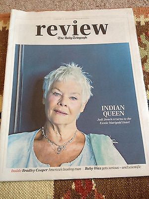 JUDI DENCH interview BRADLEY COOPER UK 1 DAY ISSUE 2015 CHARLIE XCX