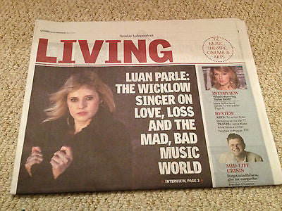 LUAN PARLE PHOTO COVER INTERVIEW INDEPENDENT LIVING MARCH 2015 TAYLOR SWIFT