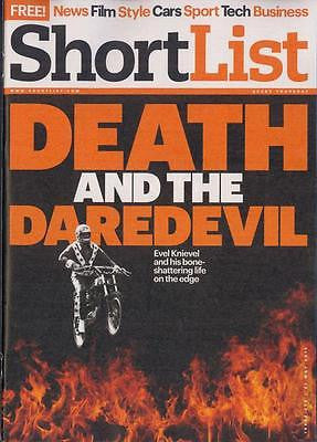 SHORTLIST MAGAZINE 2015 EVEL KNIEVEL Lawrence Osbourne Paul McCartney