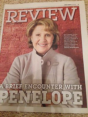 Downton Abbey PENELOPE WILTON PHOTO UK COVER EXPRESS REVIEW JUNE 2016