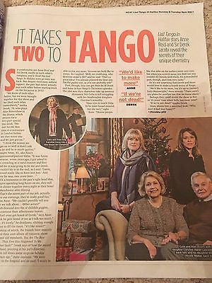 SUN TV Magazine 12/2016 DEREK JACOBI Neil Dudgeon NICK HENDRIX Jane Danson